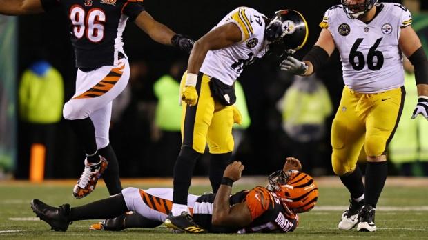 USP NFL: PITTSBURGH STEELERS AT CINCINNATI BENGALS S FBN CIN PIT USA OH